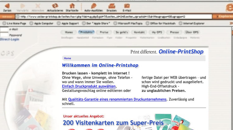online-printshop-startscreen